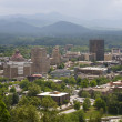 Asheville North Carolina Skyline — Stock Photo