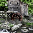 Glade Creek Grist Mill — Stock Photo