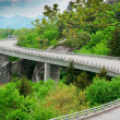 Linn Cove Viaduct — Stock Photo