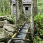 Reagan Mill, Smoky Mountains — Stock Photo