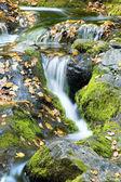 осенний водопад — Стоковое фото