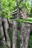 Log cabin — Foto Stock