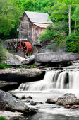 Glade Creek Grist Mill — Foto Stock