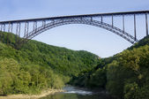 New River Gorge Bridge — Stock fotografie