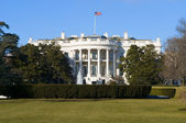 White house — Stockfoto