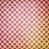 Fond grungy brillante polka dot — Photo