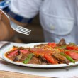 Royalty-Free Stock Photo: Turkish Iskender Doner