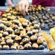 Chestnuts and Corns — Stock Photo
