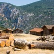 Adobe Barns of Turkey — Stock Photo