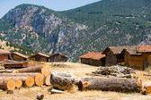 Firma adobe stodoły turcji — Zdjęcie stockowe