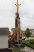 Geothermal Drilling — Stock Photo