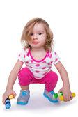 Toddler Activity — Stock Photo