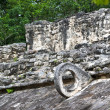 Mayan Stone Ballcourt Goal — Stock Photo