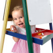 Cheerfully Playful Little Girl — Stock Photo #30357067