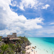 Another Nice Day at Tulum — Stock Photo