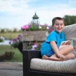 Boy With Genuine Smile — Stock Photo