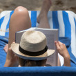 Beach Bookworm — Stock Photo #30358187