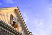 Fioriere finestra attico — Foto Stock