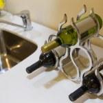 ������, ������: Bottles of wine in a stylish wine rack