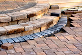 Patio Steps Side View — Stock Photo
