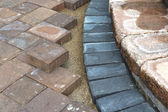 Paving Around Steps — Stock Photo