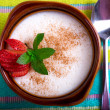 Sutlac Turkish Style Rice Pudding — Stock Photo #32036189
