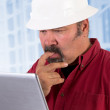 Perplexed at Work — Stock Photo