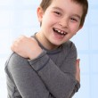 Kid Expressing his Happiness — Stock Photo #32274689