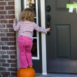 Anybody Home I'm Hoping to get some Candy Treat — Stock Photo