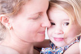 Loving mother with her little daughter — Stock Photo