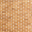 Background texture of a bamboo mat — Foto Stock