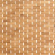 Background texture of a bamboo mat — Stok fotoğraf