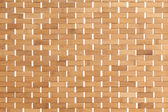 Background texture of a bamboo mat — Stock Photo