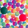 Colorful background of bicolor plastic balls — Stock Photo #45682341