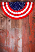 Independence Day patriotic rosette — Stock Photo
