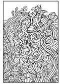 Decorative nature ornamental background — Stock Vector