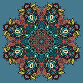 Circle decorative ornament — Stock Vector