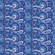 Seamless paisley pattern for design — Stockvectorbeeld