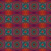 Vector abstracto ornamentales étnicos sin costura patronaje — Vector de stock