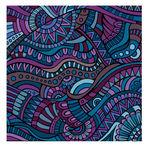 Decorative ornamental ethnic vector pattern — Stock Vector