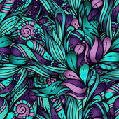 Nature ornamental pattern — Stock Vector