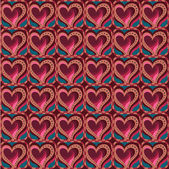 Love and feeling theme seamless pattern — Stockvektor