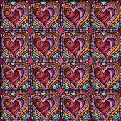 Love and feeling theme seamless pattern — Vector de stock