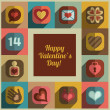 Valentine icons collection — Stock Vector #40480149