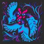 Blue birds of happiness — Stock Vector