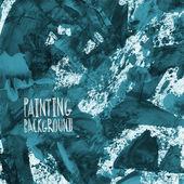 Fondo grunge vector pintura textura — Vector de stock