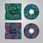 Vector CD cover design — Stock Vector #46386671