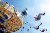 Speedy chairoplane — Foto Stock