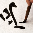 Japanese Calligraphy — Stock Photo #14235483