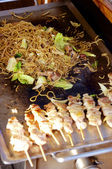 Japanese Barbecue — Stock Photo